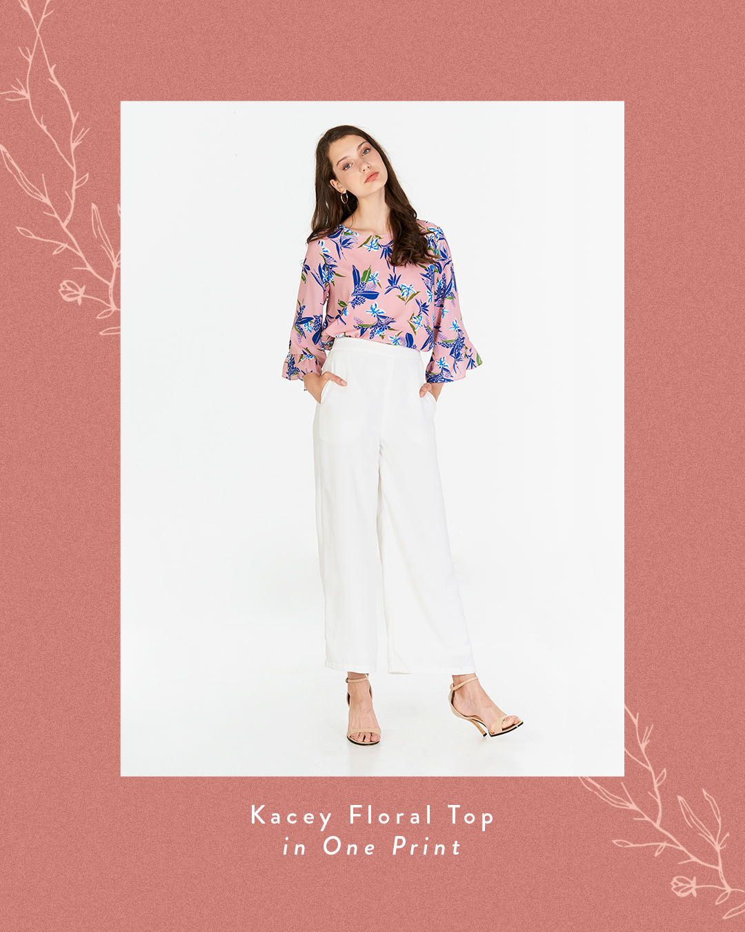 Kacey Floral Printed Top