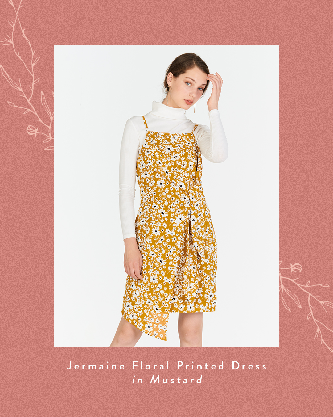 Jermaine Floral Printed Dress