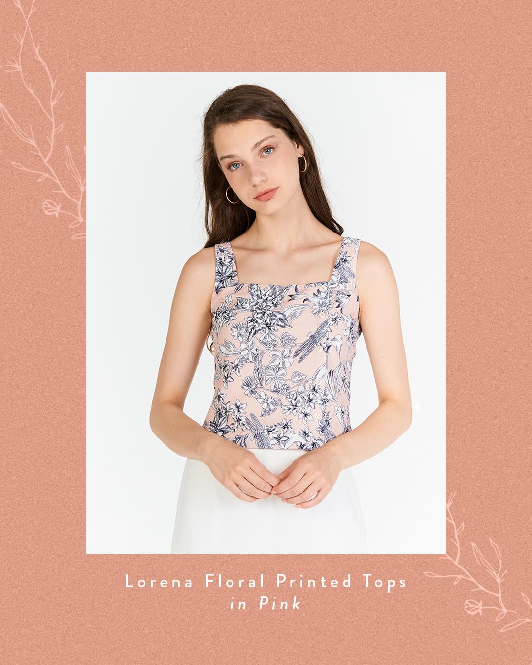 Lorena Floral Printed Top
