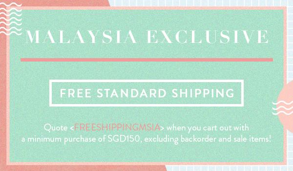 Free Malaysia Shipping