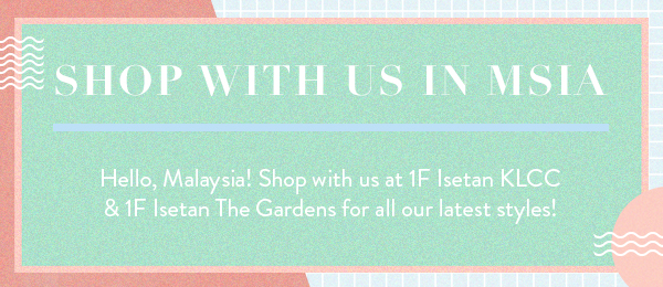 Shop With Us In Malaysia!