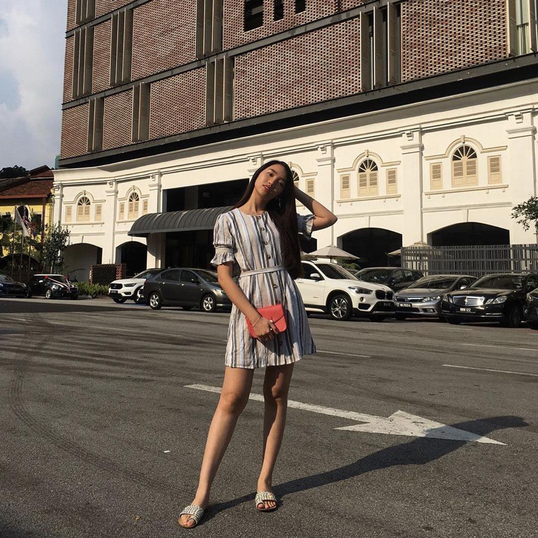 As seen on @liane663 - Sherilyn Striped Dress