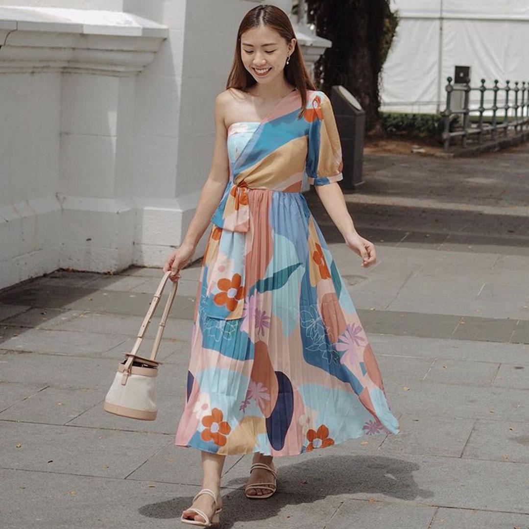 As seen on @joycelynthiang - Karlee Toga Dress