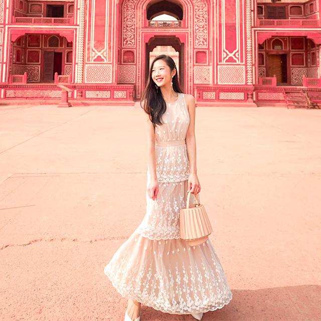 As seen on @dianaohy - Eunoia Crochet Maxi Dress