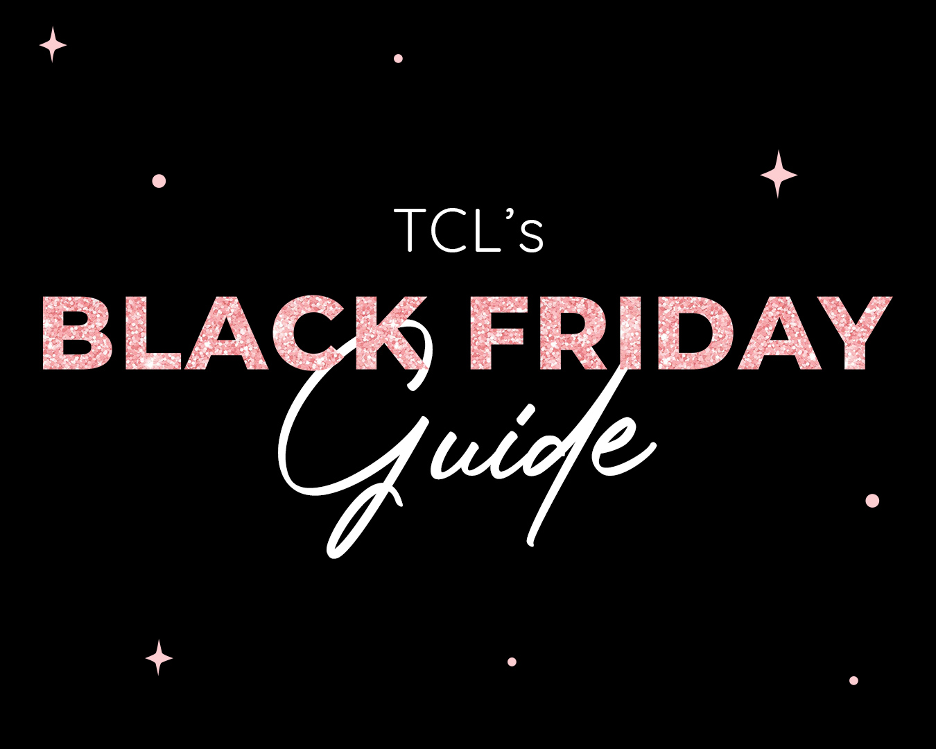 Black Friday SALE Guide