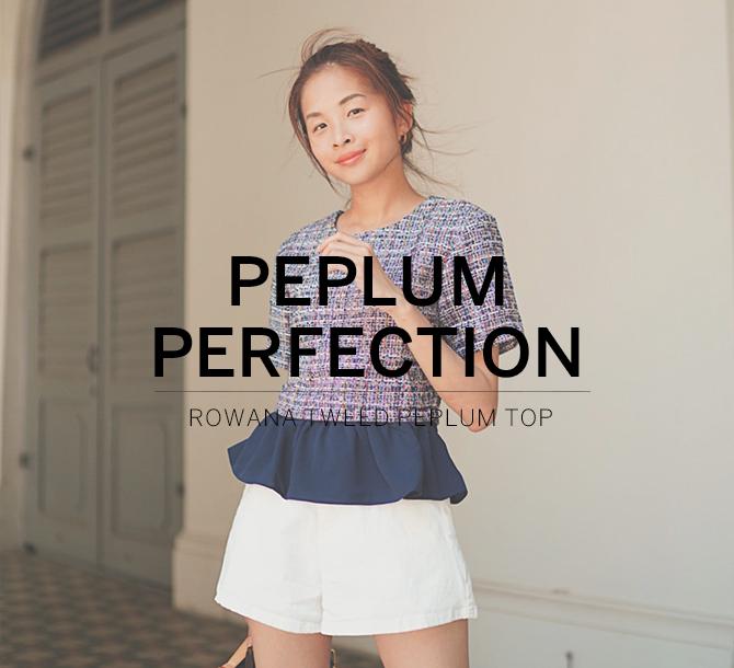 Peplum Perfection
