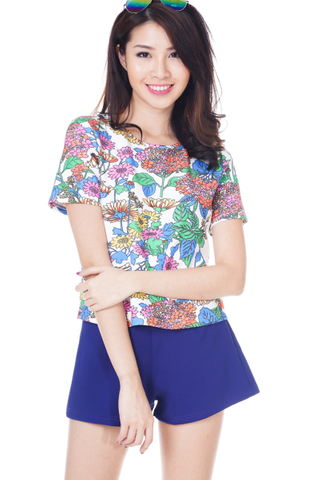 *Premium* TCL Go With Florals Neoprene Top