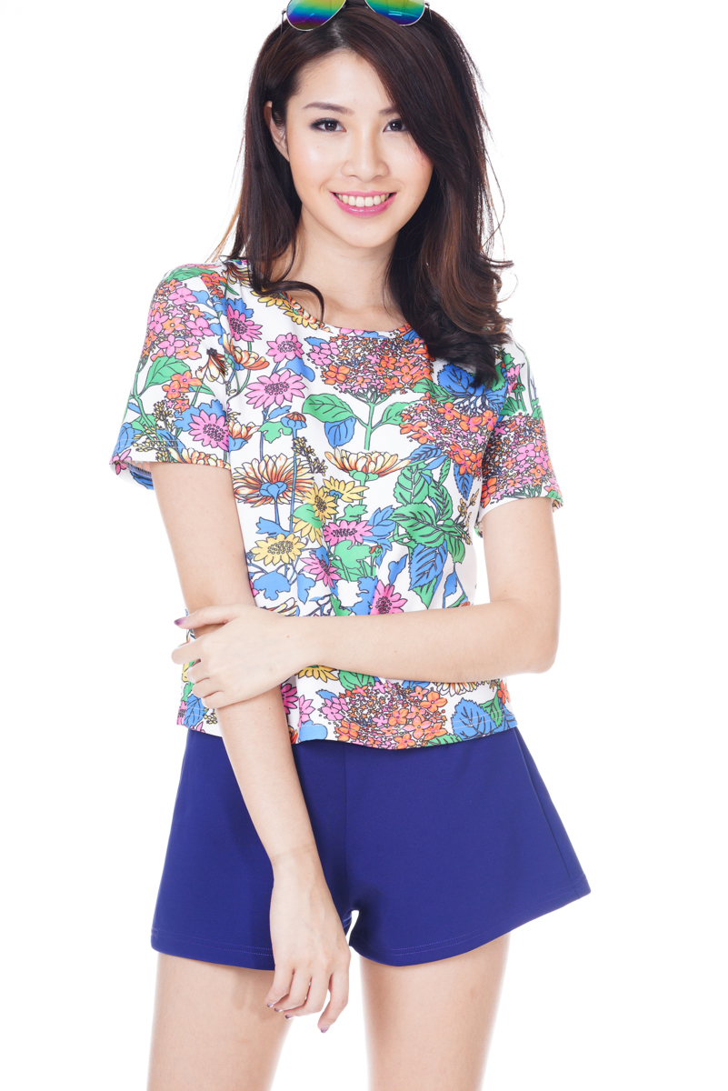 *Premium* TCL Go With Florals Neoprene Top