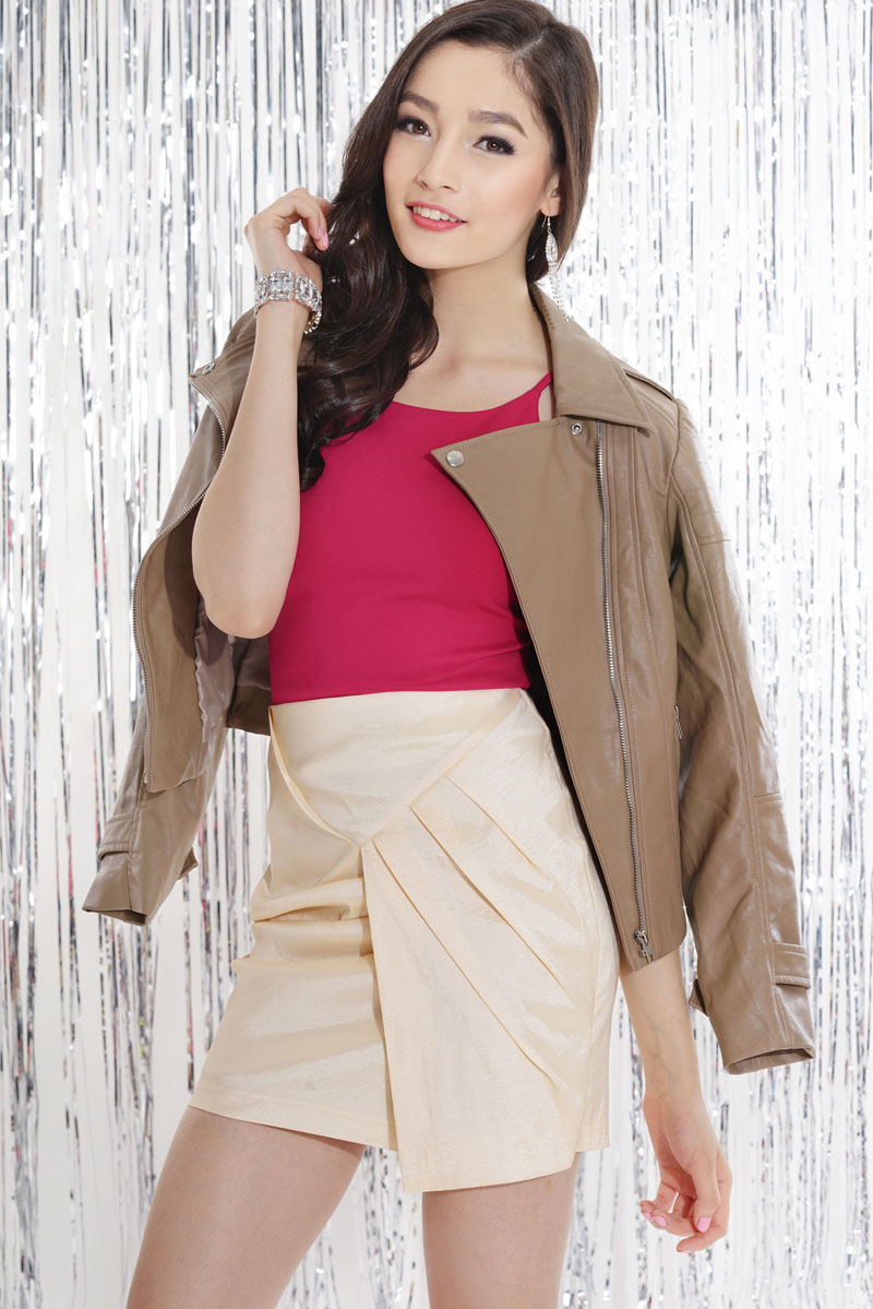 TCL High Spark Skirt in Cream