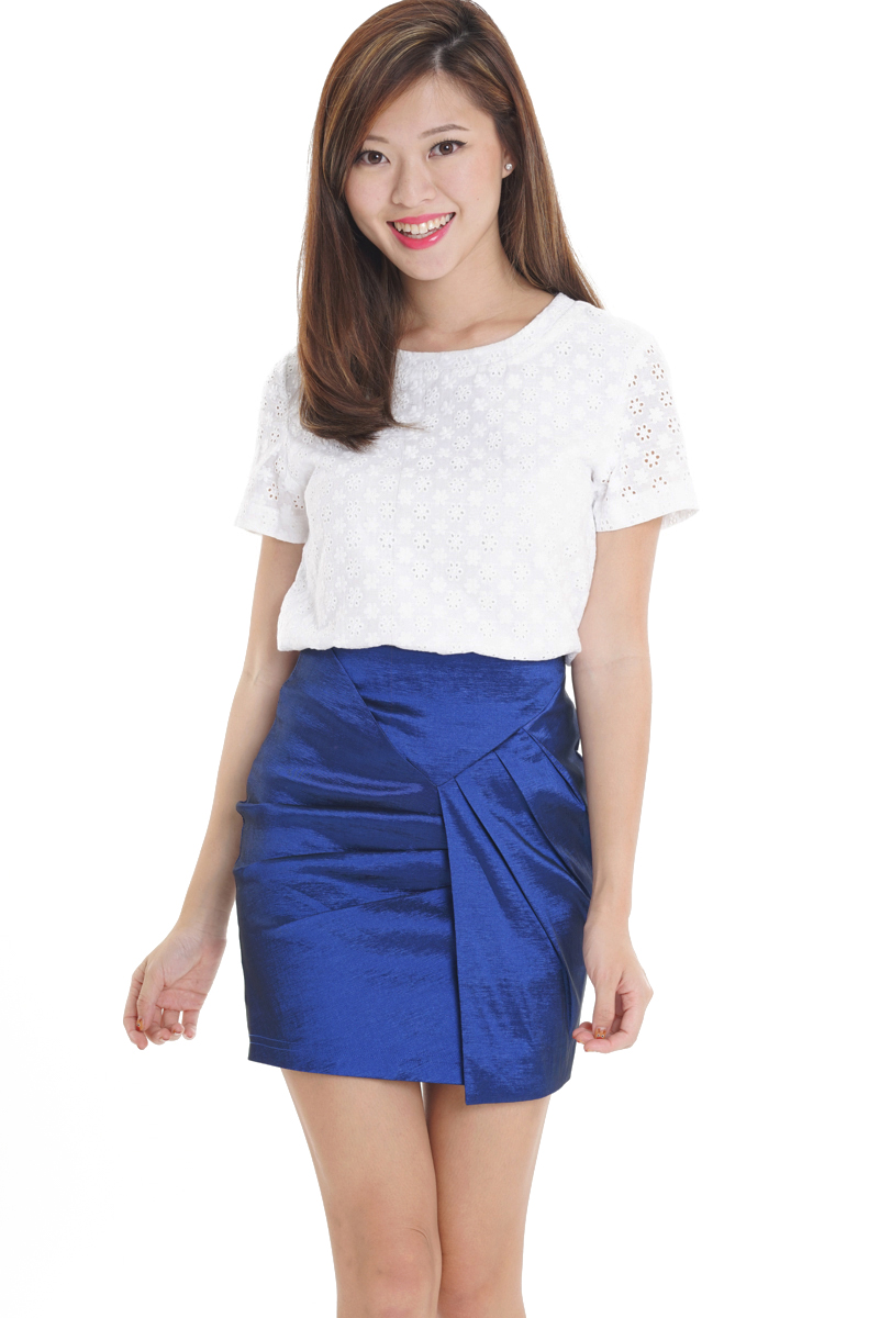 TCL High Spark Skirt in Cobalt