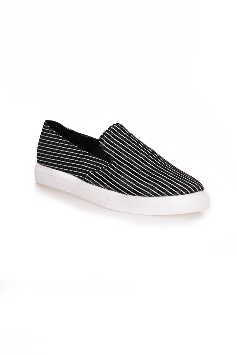 *Premium* Stripes It Plimsolls