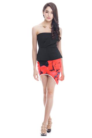 *Premium* Rosie Skirt in Black