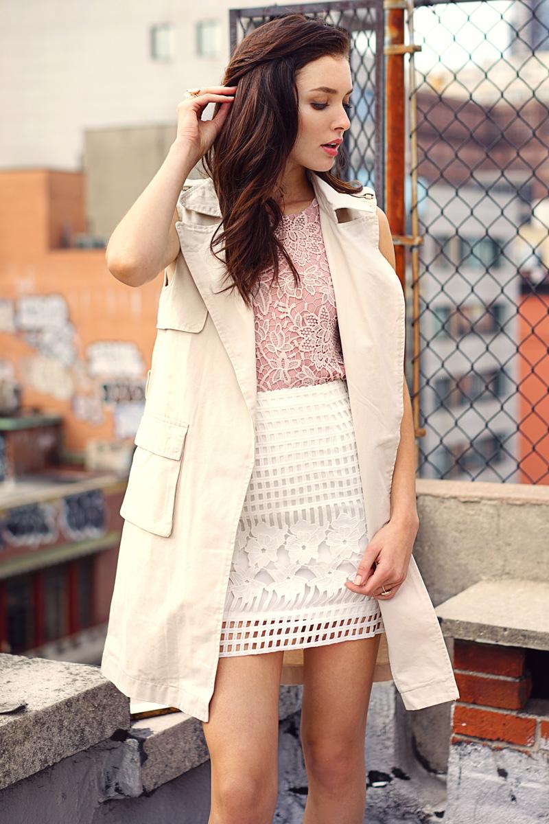 *Restock* Melody Crochet Skirt in White