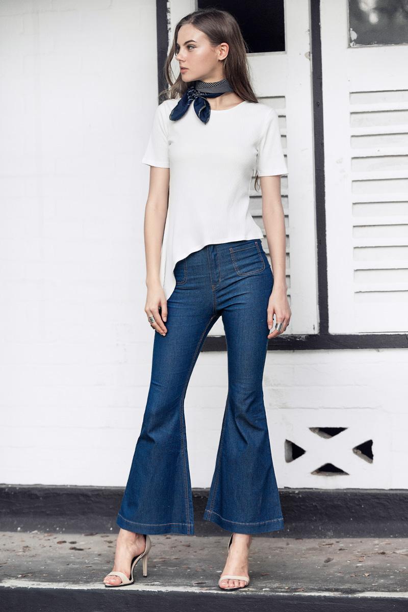 Loake Jeans in Blue