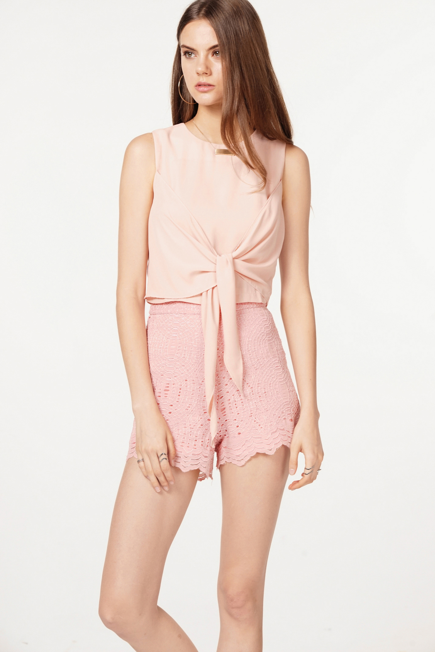 Pane Top in Pink