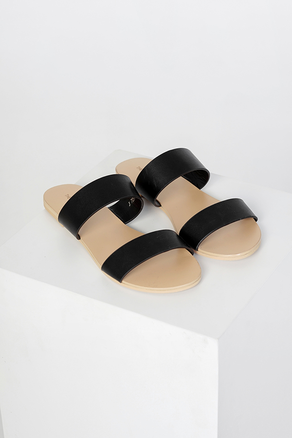 *Backorder 3* Maisson Sliders in Black