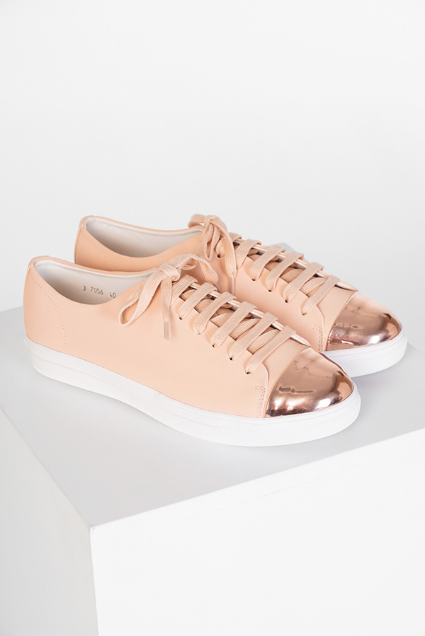 Princeton Sneakers in Rose Gold