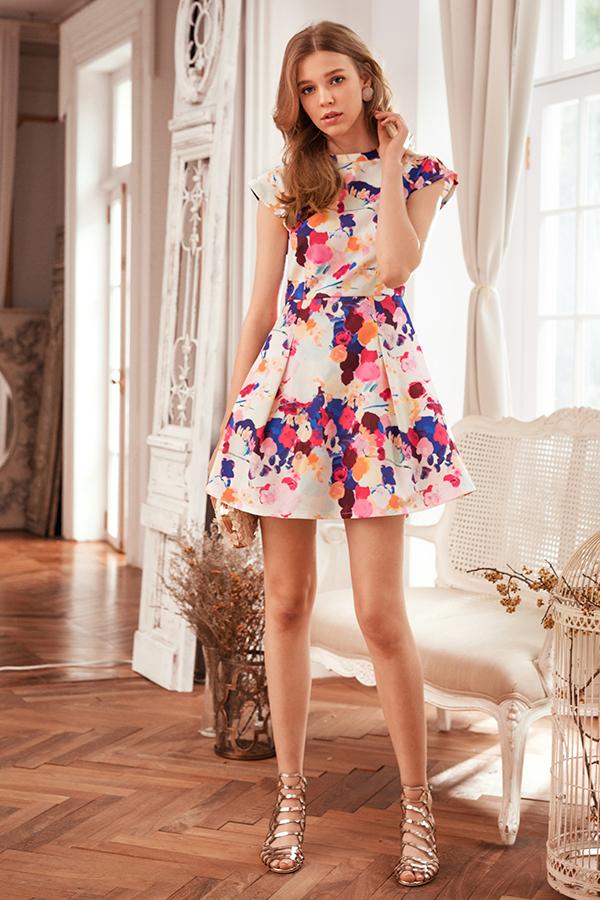 *Restock* Grande Printed Dress