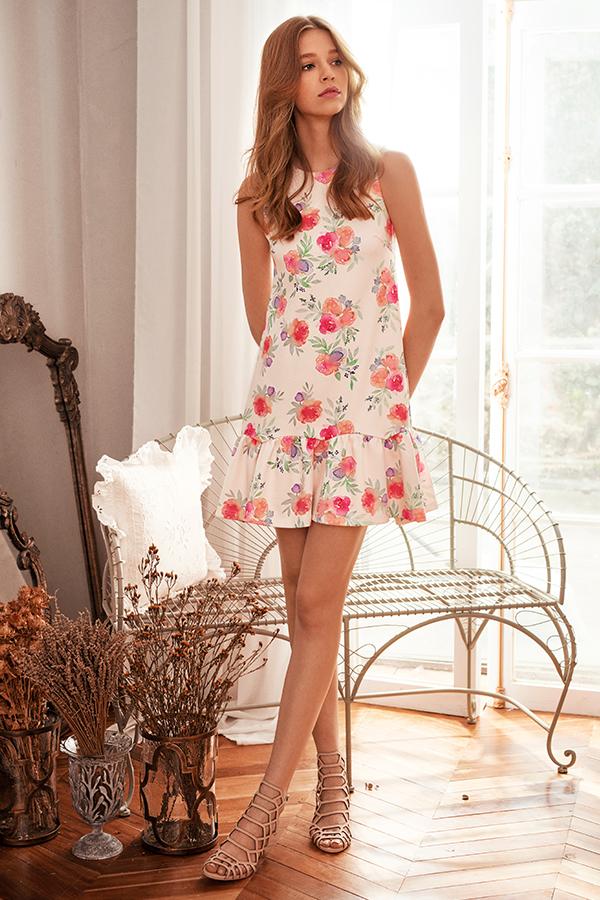 *Restock* Sorra Floral Dropwaist Dress