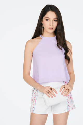 Maralyn Top In Lilac