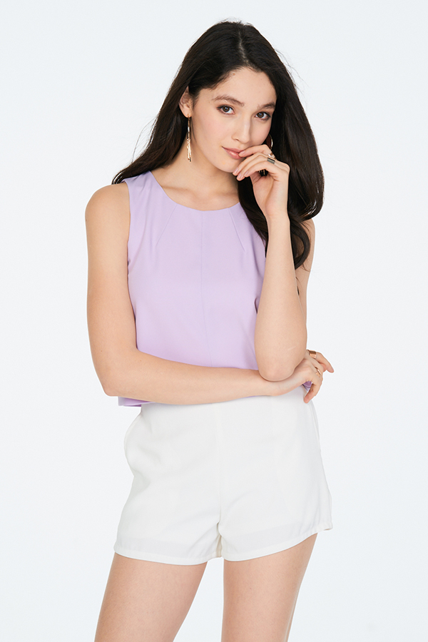 Charelle Top in Lilac