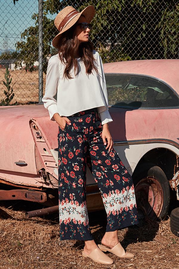 Carcia Floral Printed Pants