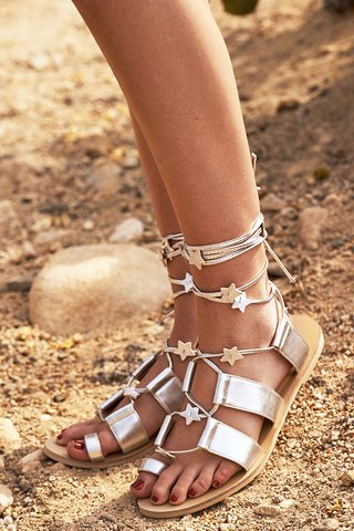 Carina Starstruck Sandals in Silver