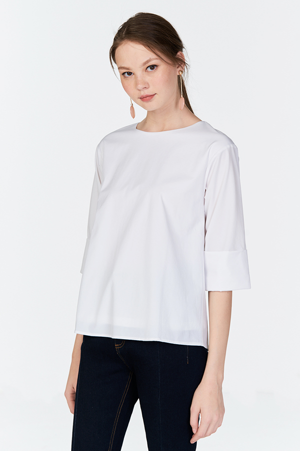 Fayette Top in White