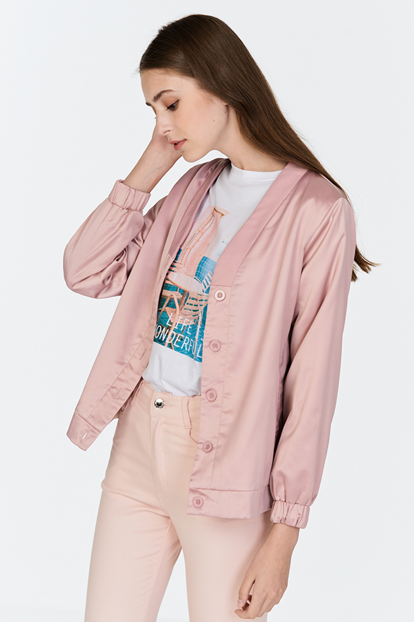 Portia Jacket in Pink