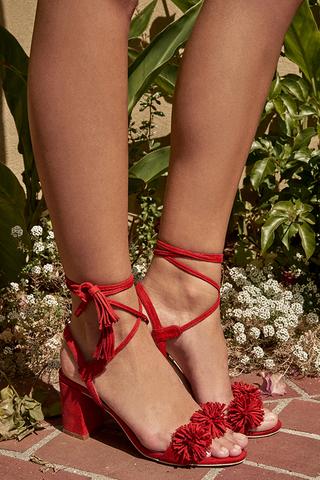 Sherron Heels in Red
