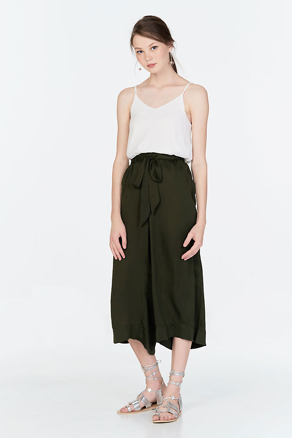 Savilles Culottes in Olive