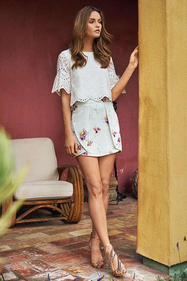 Vance Printed Skirt