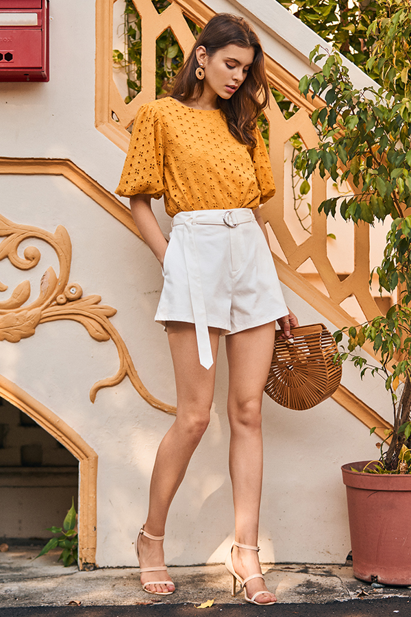 Junia Belted Shorts