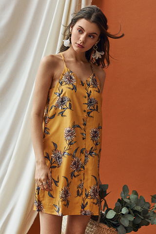 *Restock* Sanna Floral Printed Slip Dress
