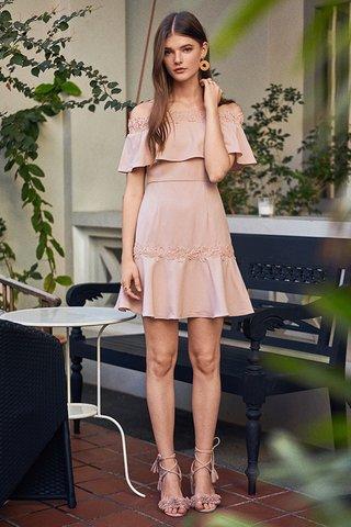 Elyse Crochet Hem Dress