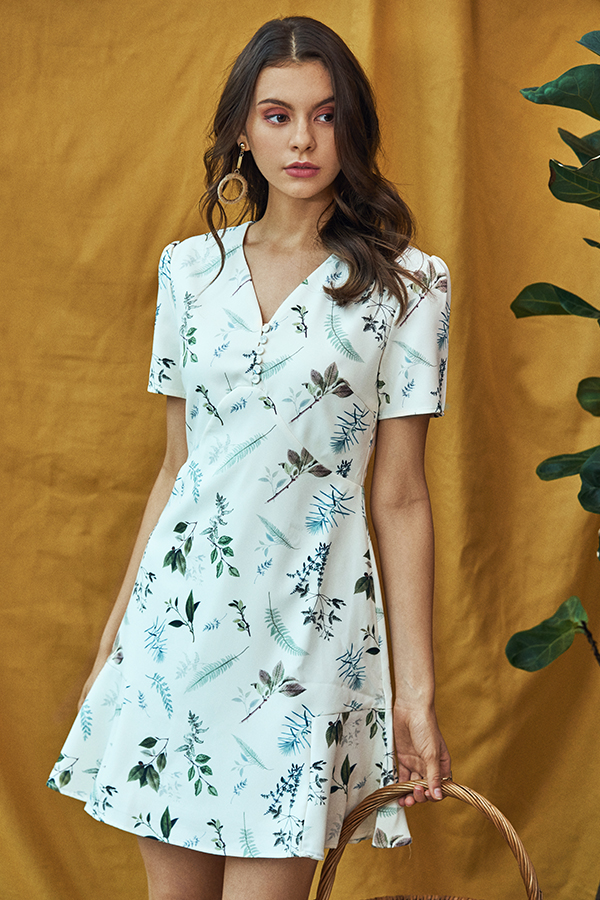 *Restock* Alya Botanical Printed Dress