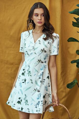 *Restock* Alya Botanical Printed Dress