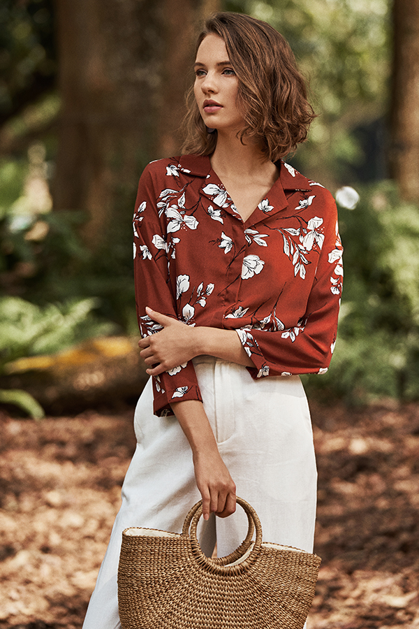 Colleen Floral Printed Shirt