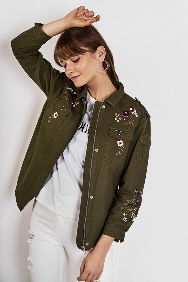 Heiden Embroidered Parka