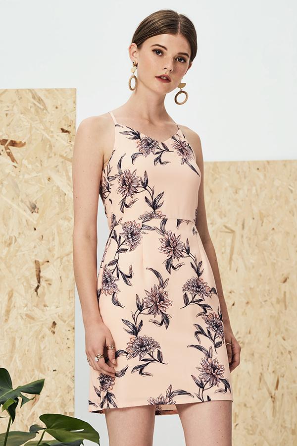 Sanna Floral Printed Dress