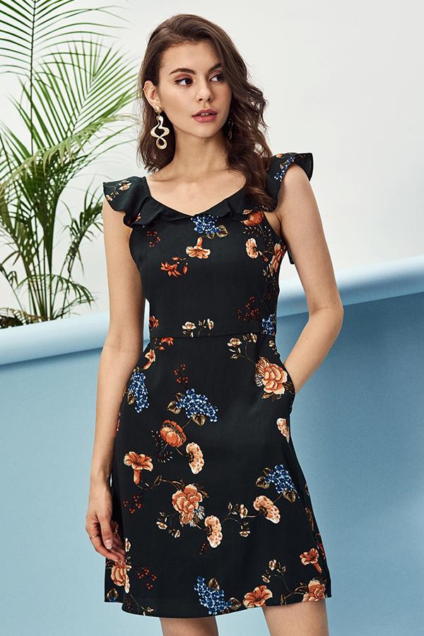 Florrie Floral Printed Dress