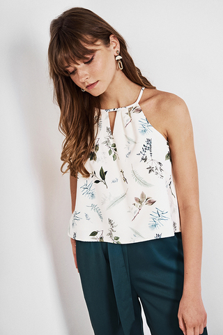 *Restock* Alya Botanical Printed Top