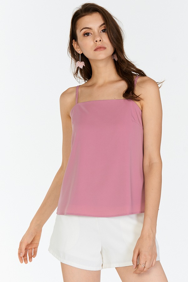Benita Top in Dusk Rose