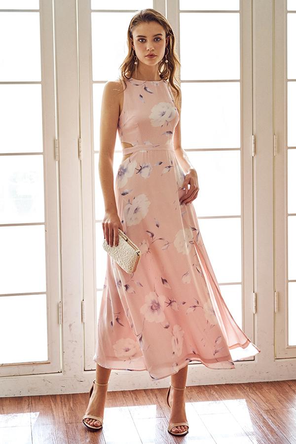 Kinia Willow Printed Maxi Dress