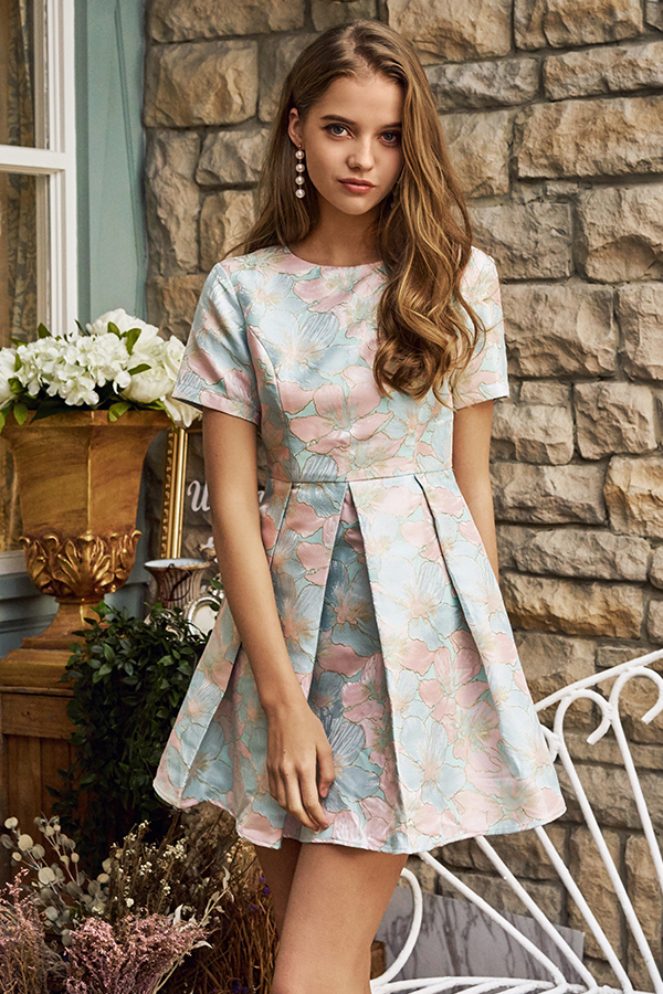 *Restock* Jenya Jacquard Dress