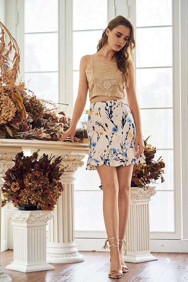 *Restock* Carnn Printed Skirt