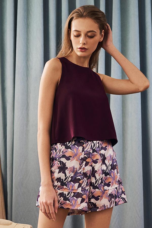 Cial Floral Printed Shorts
