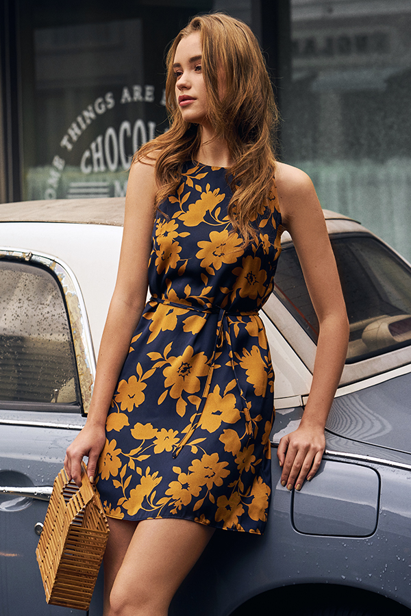 *Restock* Rachele Floral Printed Dress