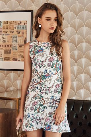 Ain Floral Printed Dress