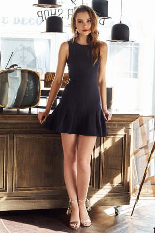 Derlene Dropwaist Dress